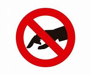 Prohibido tocar, prohibicion