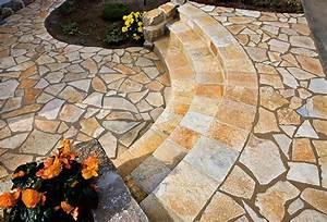 Terrasse Tiefer Als Garten : wege treppen und terrassen gartengestaltung mit naturstein leipzig krostitz ~ Bigdaddyawards.com Haus und Dekorationen
