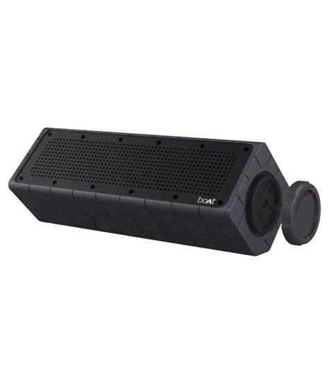 Boat Speakers Bluetooth by Boat 600 Bluetooth Speaker Black Buy Boat
