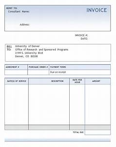 download invoice template consultant word rabitahnet With invoice document