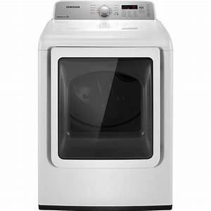 Samsung Electric Dryer 7 2 Cu  Ft  Dv422ewhdwr