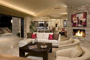 Rock, Your, Home, With, Stone, Interior, Accents