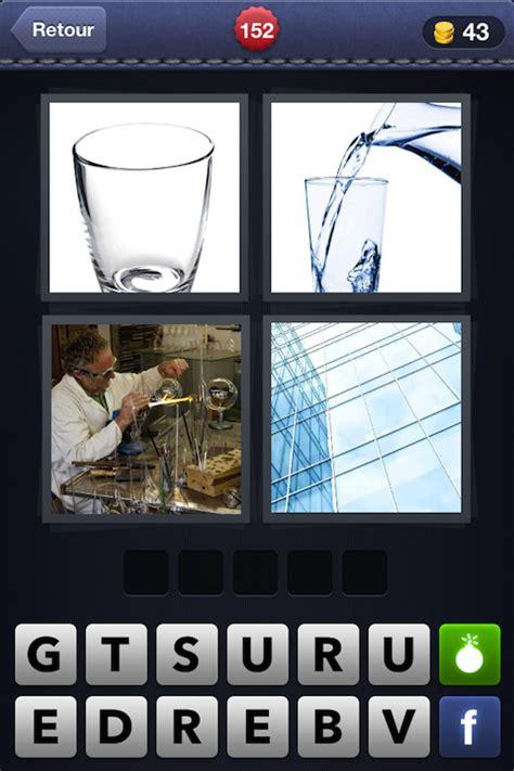 4 images 1 mot 152 verre eau chimiste carreaux android iphone