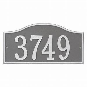 upc 719455413845 address plaques whitehall products With letters for address signs