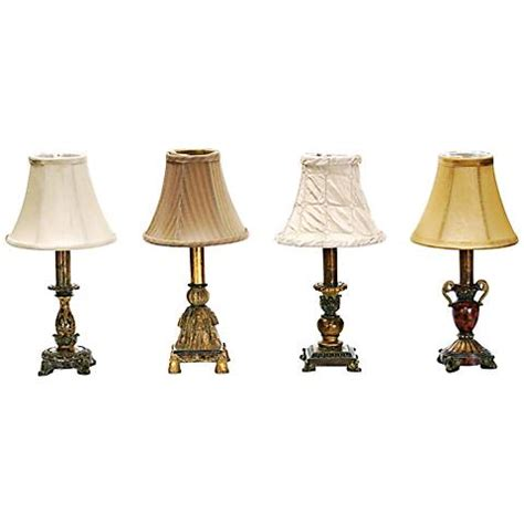 """Set Of 4 Library Style 12"""" High Minidesk Lamps By Dimond. Inverting Table. Drawer Organizer Wood. Pottery Barn Desk Chairs. Receiving Desk. Leather Table. Desk With Side Drawers. School Desk Background. Round Black Coffee Table"""