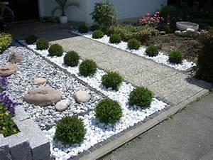 Gartenideen Mit Steinen Gartengestaltung Mit Steinen Einen