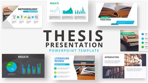 thesis  powerpoint template slidemodel