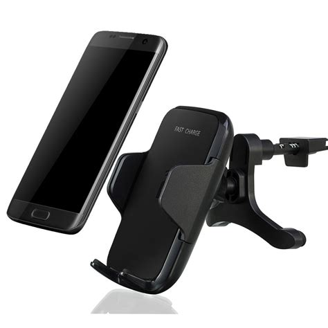 Genuine Qi Wireless Car Holder Charger Dock For Samsung