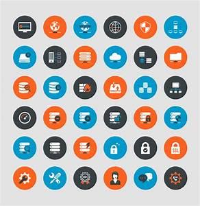 Freebie  Web Hosting  U0026 Technical Support Icons