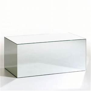 Table Basse Miroir : table basse miroir ampm le bois chez vous ~ Melissatoandfro.com Idées de Décoration