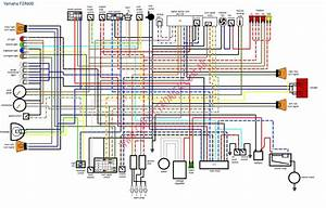 Diagrama Yamaha Fzr600