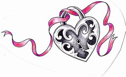 Heart Locket Tattoo Key Designs Tattoos Lock