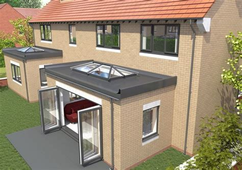 roof extension ideas skypod upvc skylights for flat roofs eurocell estilo y dise 241 o arquitect 243 nico pinterest