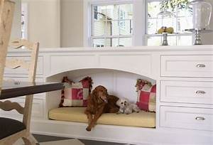 1000 images about home pet areas on pinterest cat for Hidden dog bed furniture