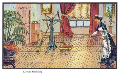 pulisci tappeti ecco come si immaginavano il 2000 un secolo fa foto 1 di