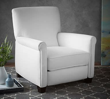 irving roll arm upholstered recliner products small