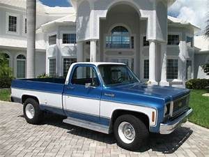 1973 Chevrolet C20 Pick Up  True 1 Owner  Low Miles  454