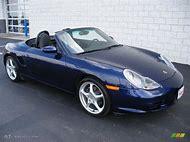 Cobalt Blue Metallic Porsche Color