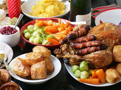 cuisine dinner uk 39 s favourite food to eat on day revealed the