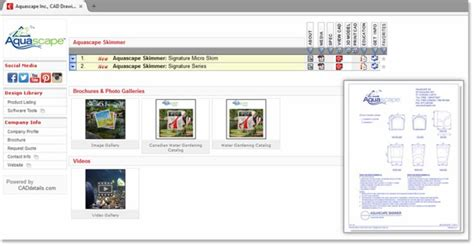 Aquascape Design Software by Aquascape Product Application Drawings Now Available On