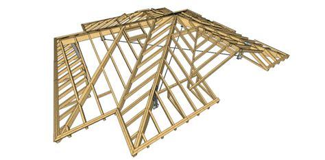 tetto a padiglione in legno copertura a padiglione in legno