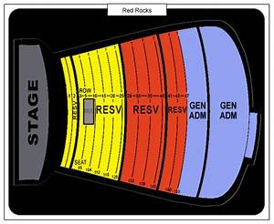 Red Rocks Reserved Seating Chart Kings Of Leon Red Rocks Amphitheatre Tickets September 24