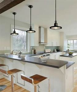 How to hang pendant lighting in the kitchen lamps plus for Kitchen pendent lighting
