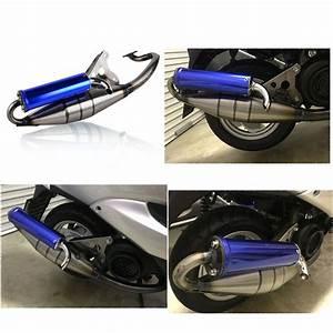 Moped 50ccm Yamaha : full exhaust system muffler pipe scooter moped racing for ~ Jslefanu.com Haus und Dekorationen
