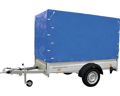 anhänger mit plane kaufen plane und spriegel humbaur blau lh 160 cm f 252 r alumaster