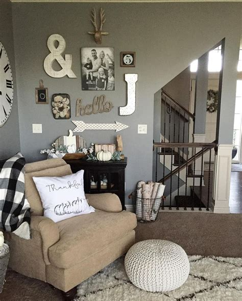 Keep wall decor simple with black and white photographs, pencil or charcoal artwork, framed vintage maps or tip! Pin on Farmhouse