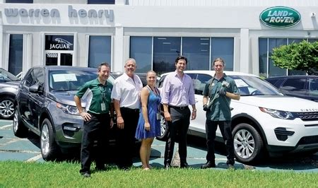 warren henry jaguarland rover north dade