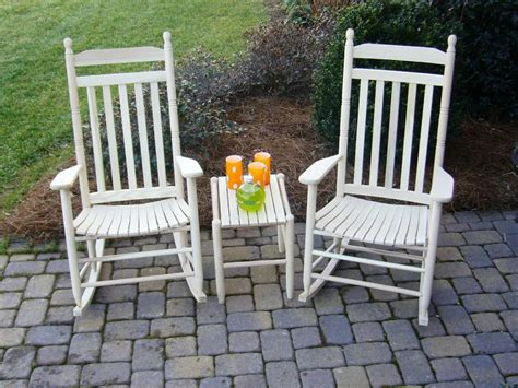 outdoor white rocking chair jen joes design best outdoor rocking chair sets