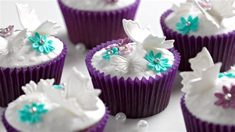 stunning butterfly cupcake designs