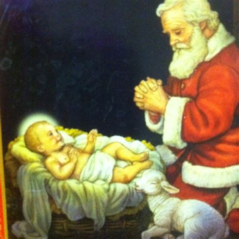 18 best santa and baby jesus images on pinterest papa