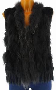 Manteau Fourrure Sans Manche : gilet lapin femme sans manches ~ Dallasstarsshop.com Idées de Décoration