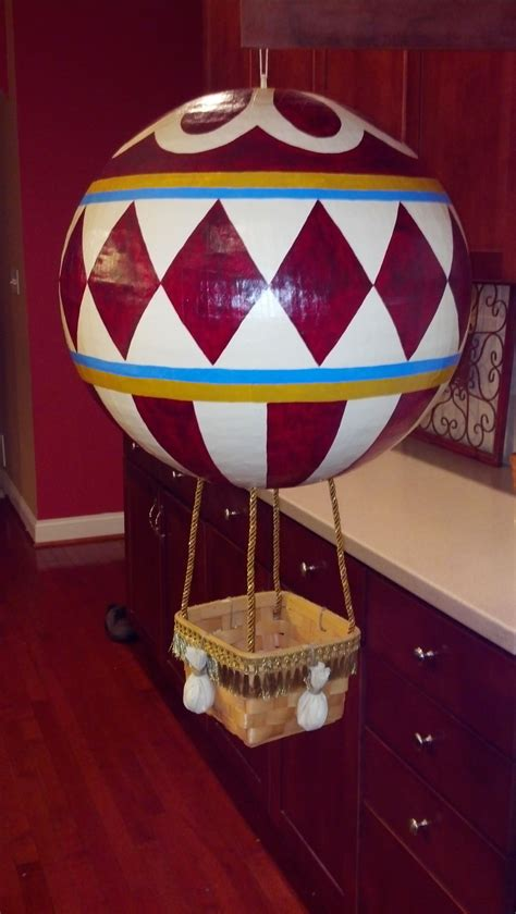 papier mache hot air balloon hot air balloon decorations