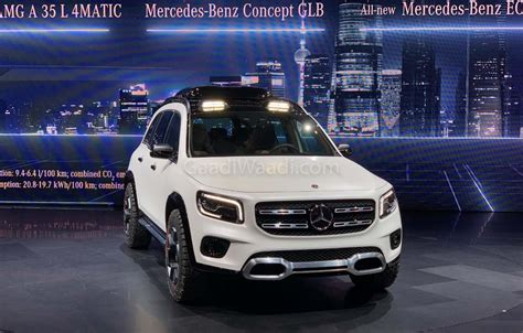 mercedes concept glb   close  production rugged