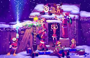 Christmas Kingdom Hearts Destiny Island