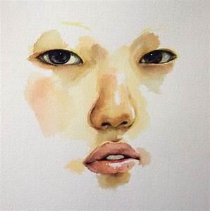 Self Portrait in watercolor by zerostates on DeviantArt
