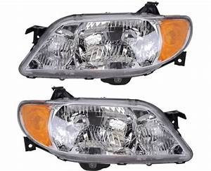 2002 Mazda Protege Headlight Assembly From Car Parts