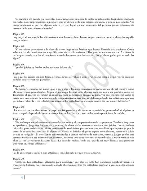 resumen libro ontologa lenguaje rafael echeverra