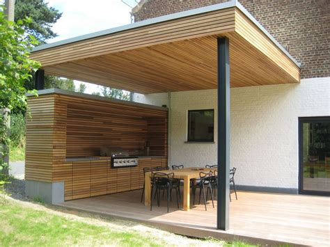 cuisine actuel programme création d une terrasse couverte avec cuisine