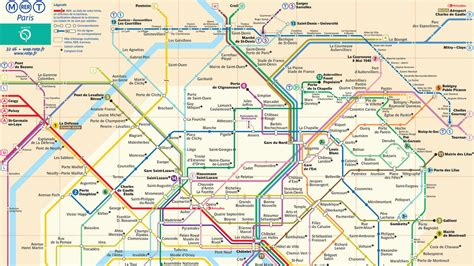 Plan De Métro Paris Ratp