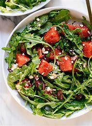 Watermelon Arugula Feta Salad Recipe