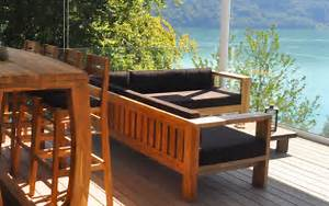Loungemöbel Holz Outdoor : lounge mobel holz alle ideen ber home design ~ Indierocktalk.com Haus und Dekorationen