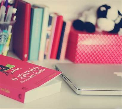Wallpapers Girly Laptop Studying Backgrounds Desktop Study