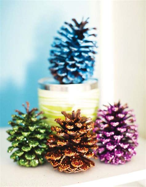 pinecone christmas decorations    christmas