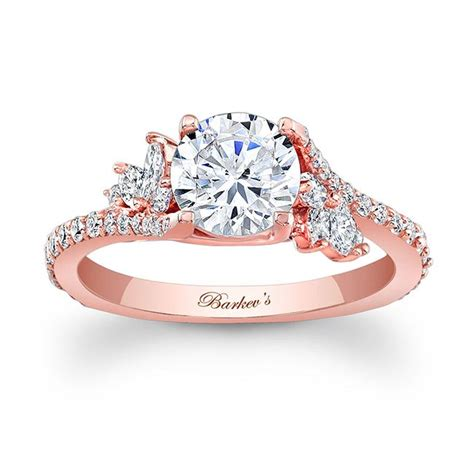 barkev s rose gold engagement ring 7908lp barkev s