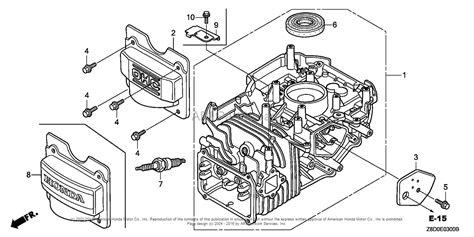 Honda Engines Gcvla Nav Engine Usa Vin Gjaaa