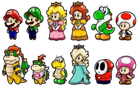 Super Mario Cute Characters 1 By Superlakitu